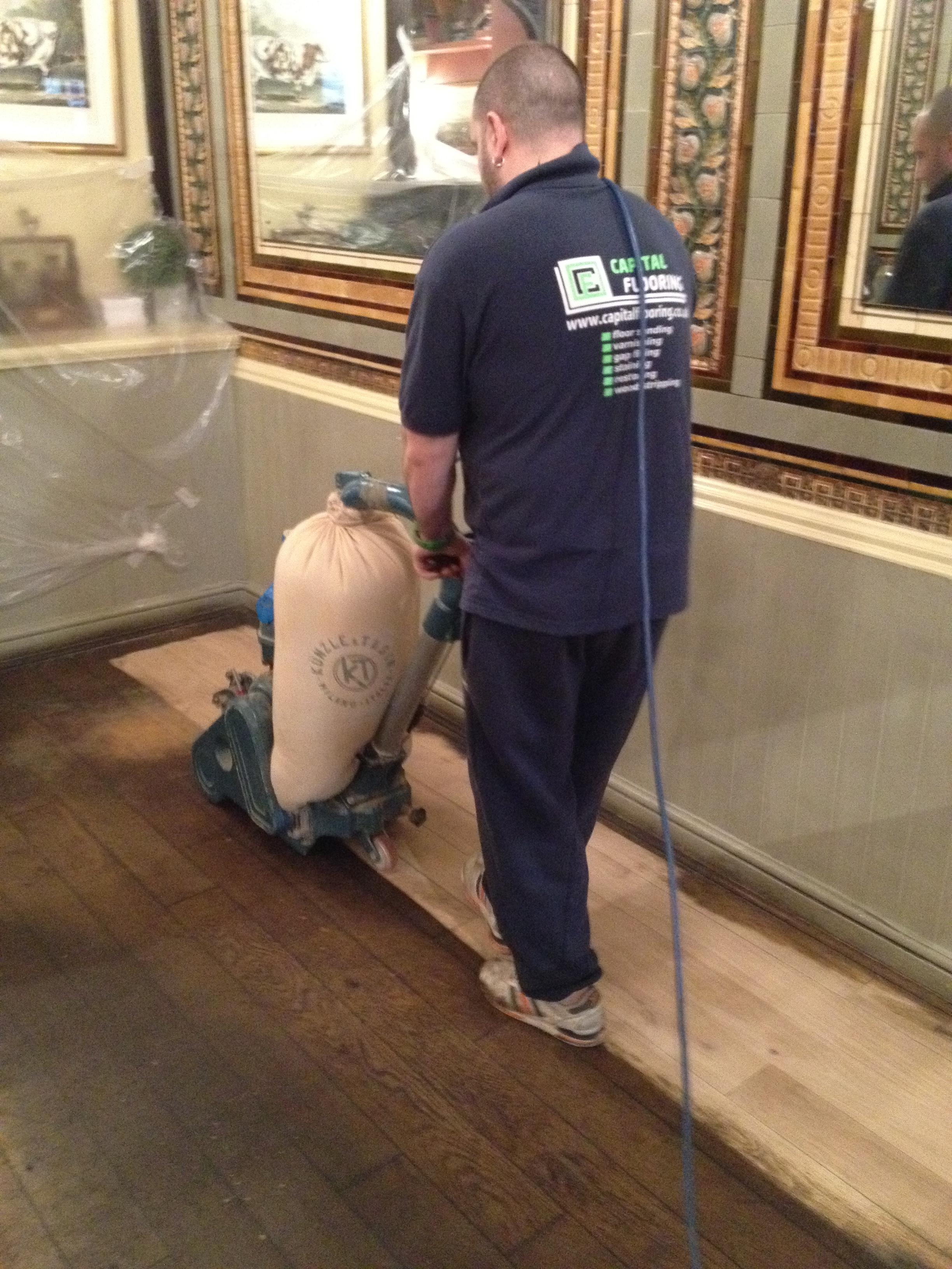 Good Quality Floor Sanding London Services